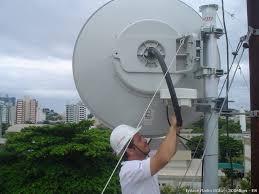 Antena Parabólica Para Rádio Enlace Digital
